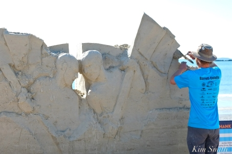 Revere Beach Sand Sculpting Festival 2018 -11 copyright Kim Smith