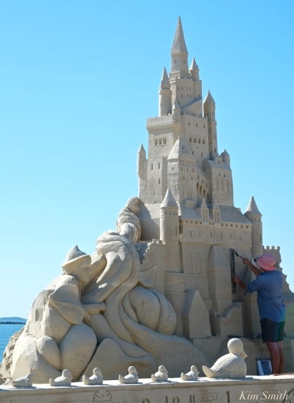 Revere Beach Sand Sculpting Festival 2018 -13 copyright Kim Smith