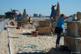 Revere Beach Sand Sculpting Festival 2018 -15 copyright Kim Smith