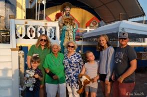 Saint Peter's Fiesta Sunday Closing Ceremony 2018 -7 copyright Kim Smith