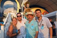 Saint Peter's Fiesta Sunday Closing Ceremony 2018 Randy Sweet and Family-1 copyright Kim Smith copy