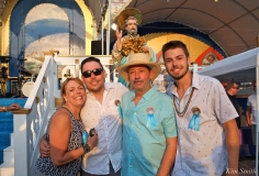 Saint Peter's Fiesta Sunday Closing Ceremony 2018 Randy Sweet and Family copyright Kim Smith copy