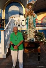 Saint Peter's Fiesta Sunday Closing Ceremony 2018 Sara Favazza copyright Kim Smith