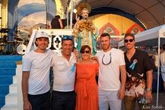 Saint Peter's Fiesta Sunday Closing Ceremony 2018 Taormina Family-2 copyright Kim Smith