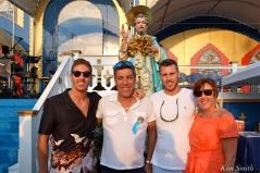 Saint Peter's Fiesta Sunday Closing Ceremony 2018 Taromina Family copyright Kim Smith