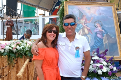Saint Peter's Fiesta Sunday Grand Procession 2018 copyright Kim Smith - 04