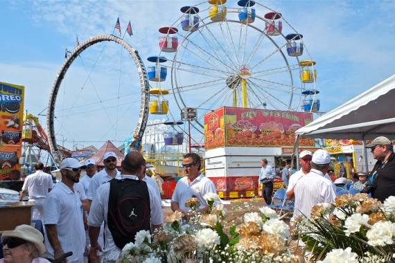 Saint Peter's Fiesta Sunday Grand Procession 2018 copyright Kim Smith - 08