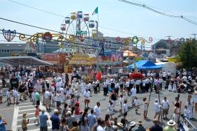 Saint Peter's Fiesta Sunday Grand Procession 2018 copyright Kim Smith - 20
