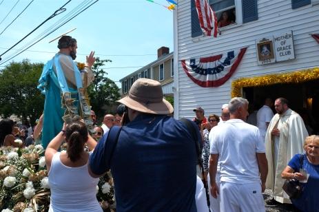 Saint Peter's Fiesta Sunday Grand Procession 2018 copyright Kim Smith - 36