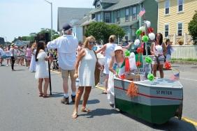 Saint Peter's Fiesta Sunday Grand Procession 2018 copyright Kim Smith - 61