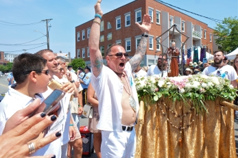Saint Peter's Fiesta Sunday Grand Procession 2018 copyright Kim Smith - 71