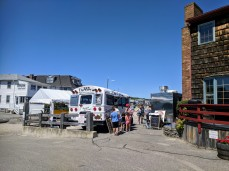 summer of 2018 Cape Ann Motor Inn Cape Ann SUP, Salty Frank's Dogs, The Cow_20180707_©c ryan (1)