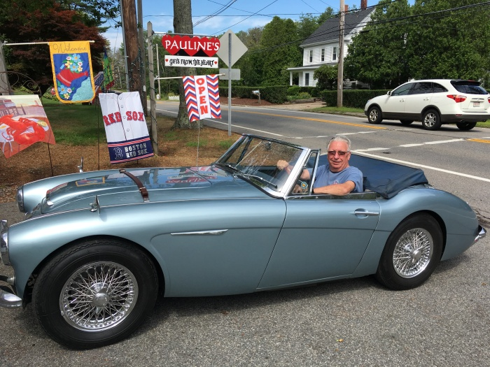 Austin Healey summit Cape Ann 2018 ©Pauline Bresnahan