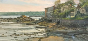 ©STEPHEN LaPIERRE rocky-neck-houses-low-tide