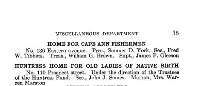 Gloucester archives_Gloucester Directory 1913 charity