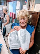 Sandy_long time volunteer_Gloucester Archives City Hall Gloucester Mass_cemeteries among many areas of her interest and knowledge specialization_20180828_©Catherine Ryan (2)