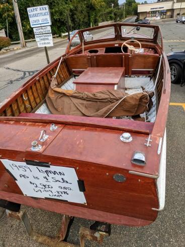 1959 Lyman boat for sale_20180917_Gloucester Mass ©Catherine Ryan (2)