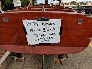 1959 Lyman boat for sale_20180917_Gloucester Mass ©Catherine Ryan (3)