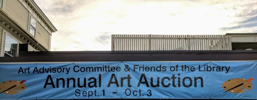 Annual Art Auction 2018 Sept preview for Oct 3 auction_ local artists fundraiser for Gloucester Lyceum & Sawyer Free Public Library _By Friends of SFL ©Catherine Rya (25)