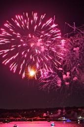 Gloucester Schooner Festival Fireworks Labor Day copyright Kim Smith - 02