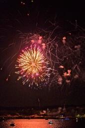 Gloucester Schooner Festival Fireworks Labor Day copyright Kim Smith - 03