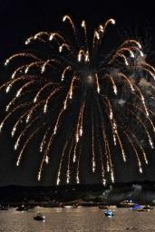 Gloucester Schooner Festival Fireworks Labor Day copyright Kim Smith - 04