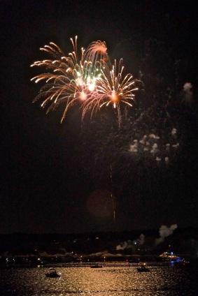 Gloucester Schooner Festival Fireworks Labor Day copyright Kim Smith - 05
