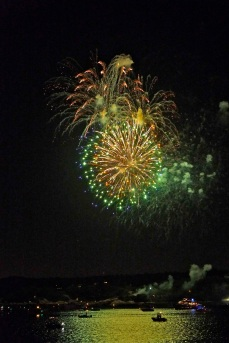 Gloucester Schooner Festival Fireworks Labor Day copyright Kim Smith - 06