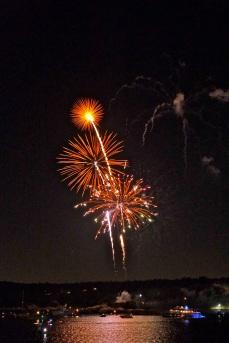Gloucester Schooner Festival Fireworks Labor Day copyright Kim Smith - 07