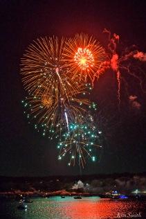 Gloucester Schooner Festival Fireworks Labor Day copyright Kim Smith - 08