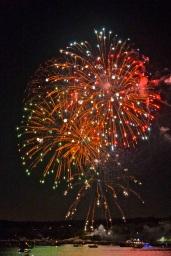 Gloucester Schooner Festival Fireworks Labor Day copyright Kim Smith - 10