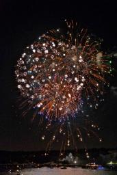 Gloucester Schooner Festival Fireworks Labor Day copyright Kim Smith - 11