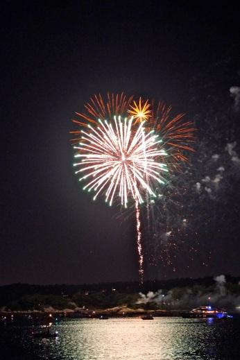 Gloucester Schooner Festival Fireworks Labor Day copyright Kim Smith - 14