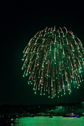 Gloucester Schooner Festival Fireworks Labor Day copyright Kim Smith - 15
