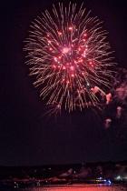 Gloucester Schooner Festival Fireworks Labor Day copyright Kim Smith - 17