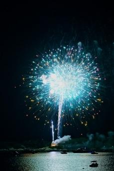 Gloucester Schooner Festival Fireworks Labor Day copyright Kim Smith - 21