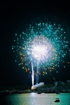 Gloucester Schooner Festival Fireworks Labor Day copyright Kim Smith - 22