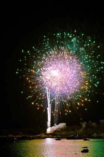 Gloucester Schooner Festival Fireworks Labor Day copyright Kim Smith - 23