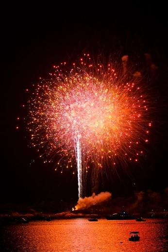 Gloucester Schooner Festival Fireworks Labor Day copyright Kim Smith - 25