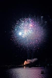 Gloucester Schooner Festival Fireworks Labor Day copyright Kim Smith - 26