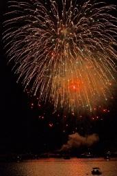 Gloucester Schooner Festival Fireworks Labor Day copyright Kim Smith - 31