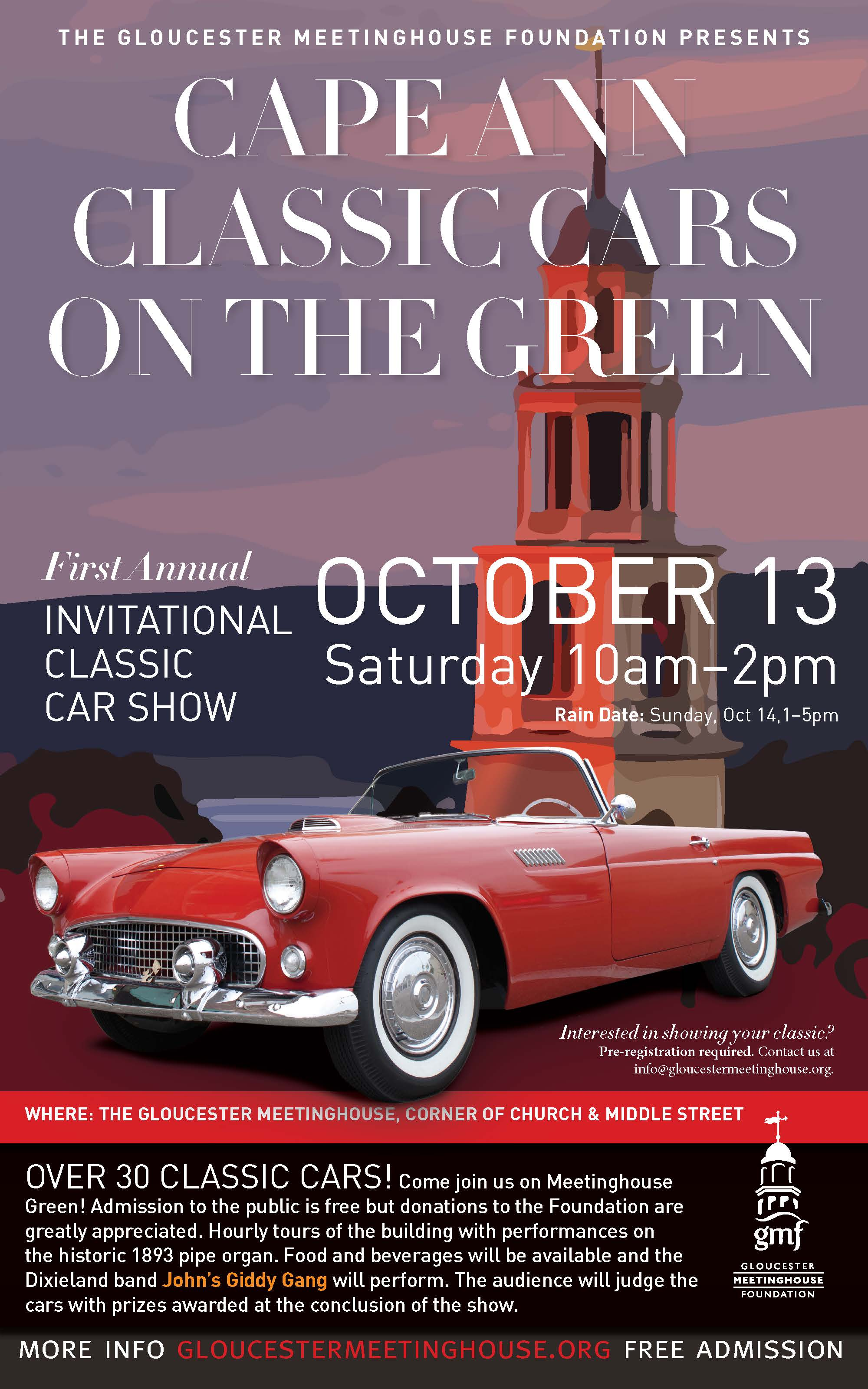 Classic Cars On The Green Oct GoodMorningGloucester - Naples antique car show 2018