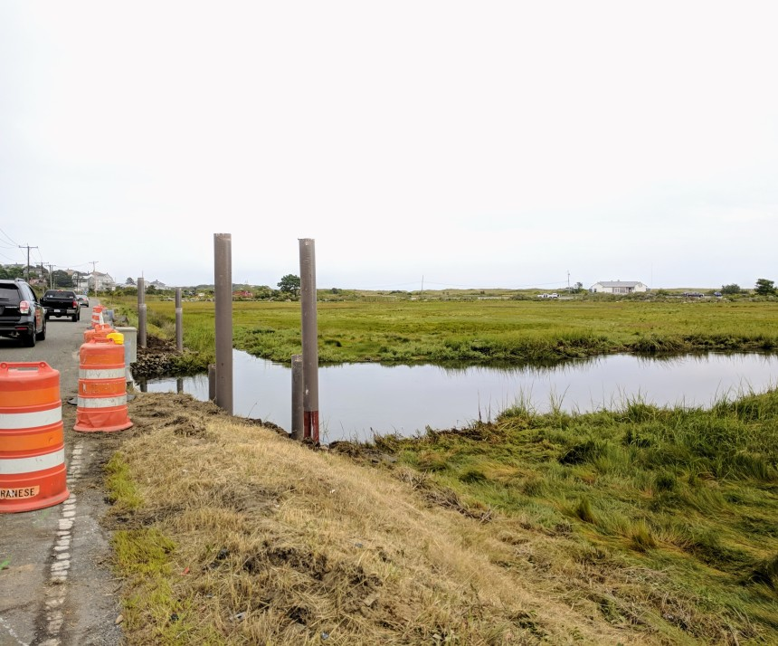 New pedestrian walkway_Thatcher Road_Public Works_Gloucester MA_ 2018 Sept 11_©catherine ryan (1)