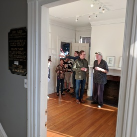 Peter Morse photos_David West Glouc. drawings_two person show Jane Deering Gallery Before the reception_Gloucester Mass_ 20180929_© catherine rya (9)