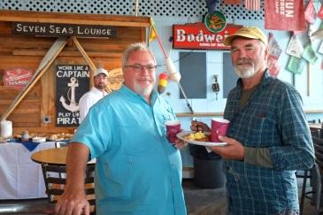 Schooner Festival Captain and Crew Meeting Gloucester House Restaurant copyright Kim Smith - 3