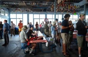 Schooner Festival Captain and Crew Meeting Gloucester House Restaurant copyright Kim Smith - 4
