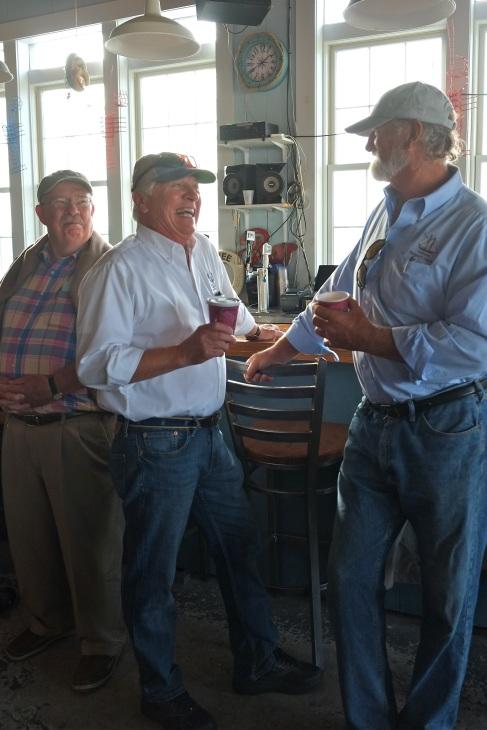 Schooner Festival Captain and Crew Meeting Gloucester House Restaurant copyright Kim Smith - 7
