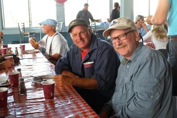Schooner Festival Captain and Crew Meeting Gloucester House Restaurant copyright Kim Smith - 9