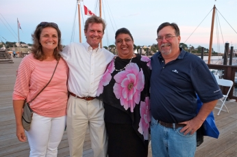 Schooner Festival Mayor Sefatia Rome Theken Reception 2018 copyright Kim Smith - 38