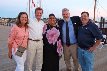 Schooner Festival Mayor Sefatia Rome Theken Reception 2018 copyright Kim Smith - 39